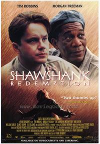 The Shawshank Redemption - 43 x 62 Movie Poster - Bus Shelter Style G