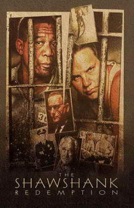 The Shawshank Redemption - 11 x 17 Movie Poster - Style H