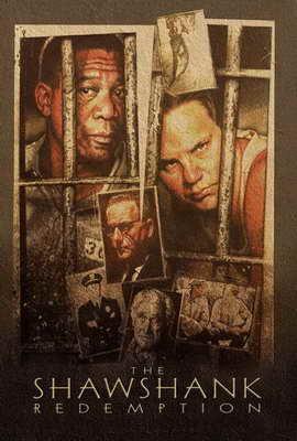 The Shawshank Redemption - 27 x 40 Movie Poster - Style H