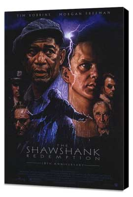The Shawshank Redemption - 11 x 17 Movie Poster - Style C - Museum Wrapped Canvas