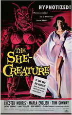 The She-Creature - 11 x 17 Movie Poster - Style A