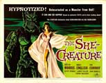 The She-Creature - 22 x 28 Movie Poster - Half Sheet Style A