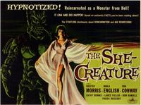 The She-Creature - 11 x 17 Movie Poster - Style B