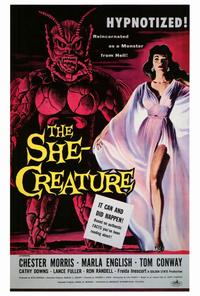 The She-Creature - 27 x 40 Movie Poster - Style A