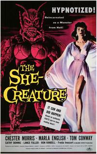 The She-Creature - 43 x 62 Movie Poster - Bus Shelter Style A