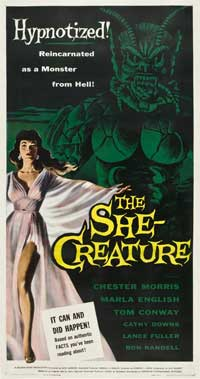 The She-Creature - 20 x 40 Movie Poster - Style A