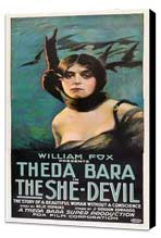 The She Devil - 20 x 40 Movie Poster - Style A - Museum Wrapped Canvas