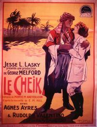 The Sheik - 11 x 17 Movie Poster - French Style A