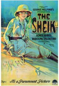 The Sheik - 43 x 62 Movie Poster - Bus Shelter Style A