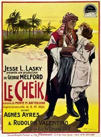 The Sheik - 27 x 40 Movie Poster - French Style A
