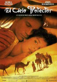 The Sheltering Sky - 11 x 17 Movie Poster - Spanish Style A