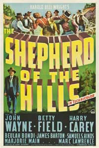 The Shepherd of the Hills - 27 x 40 Movie Poster - Style A