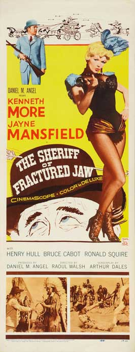 The Sheriff of Fractured Jaw - 14 x 36 Movie Poster - Insert Style A
