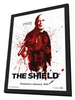 Shield, The - 11 x 17 TV Poster - Style C - in Deluxe Wood Frame
