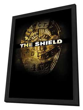 Shield, The - 27 x 40 TV Poster - Style B - in Deluxe Wood Frame