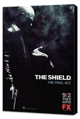 Shield, The - 11 x 17 TV Poster - Style E - Museum Wrapped Canvas