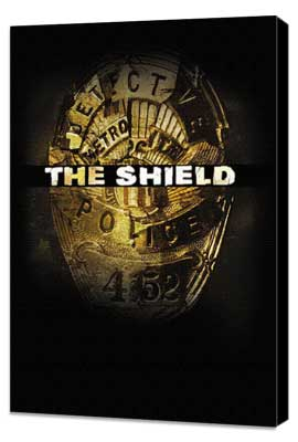 Shield, The - 27 x 40 TV Poster - Style B - Museum Wrapped Canvas