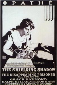 The Shielding Shadow - 43 x 62 Movie Poster - Bus Shelter Style A