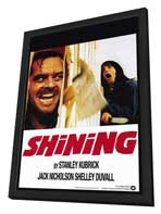 The Shining - 11 x 17 Movie Poster - Style C - in Deluxe Wood Frame