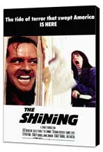 The Shining - 11 x 17 Movie Poster - Style B - Museum Wrapped Canvas