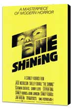 The Shining - 27 x 40 Movie Poster - Style A - Museum Wrapped Canvas