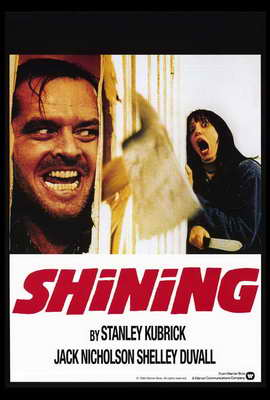 The Shining - 27 x 40 Movie Poster - Style B