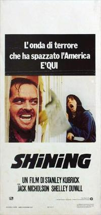 The Shining - 13 x 28 Movie Poster - Italian Style A