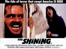 The Shining - 30 x 40 Movie Poster UK - Style A