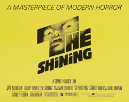 The Shining - 22 x 28 Movie Poster - Half Sheet Style A