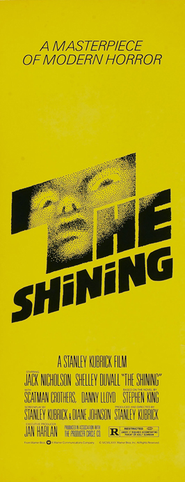 The Shining - 14 x 36 Movie Poster - Insert Style B