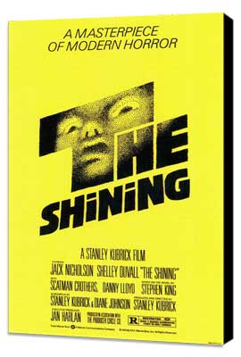 The Shining - 11 x 17 Movie Poster - Style A - Museum Wrapped Canvas