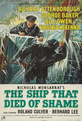 The Ship That Died of Shame - 27 x 40 Movie Poster - Style C