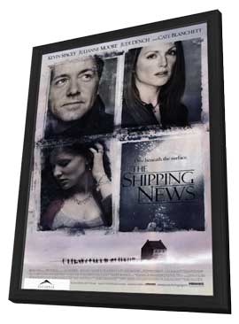 The Shipping News - 11 x 17 Movie Poster - Style A - in Deluxe Wood Frame