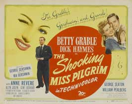 The Shocking Miss Pilgrim - 11 x 14 Movie Poster - Style A