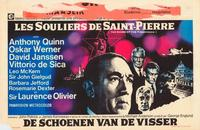 The Shoes of the Fisherman - 11 x 17 Movie Poster - Belgian Style A