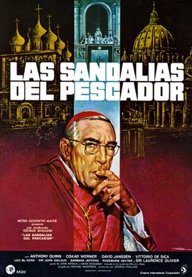 The Shoes of the Fisherman - 11 x 17 Movie Poster - Spanish Style C
