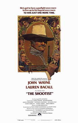 The Shootist - 11 x 17 Movie Poster - Style A