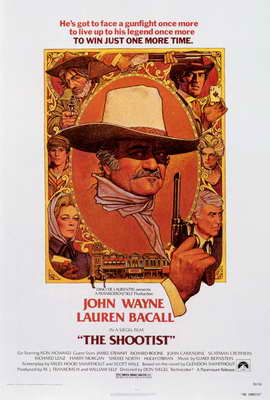 The Shootist - 27 x 40 Movie Poster - Style B