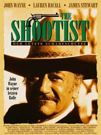 The Shootist - 11 x 17 Movie Poster - German Style A