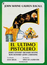 The Shootist - 11 x 17 Movie Poster - Spanish Style A