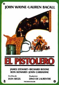 The Shootist - 11 x 17 Movie Poster - Spanish Style B