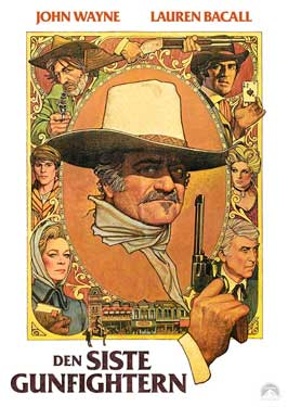 The Shootist - 11 x 17 Movie Poster - German Style B