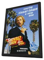 The Showbiz Show with David Spade - 11 x 17 TV Poster - Style A - in Deluxe Wood Frame