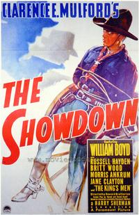 The Showdown - 27 x 40 Movie Poster - Style A