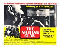 The Sicilian Clan - 11 x 14 Movie Poster - Style A