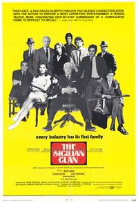 The Sicilian Clan - 43 x 62 Movie Poster - Bus Shelter Style A