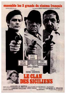 The Sicilian Clan - 11 x 17 Movie Poster - French Style A