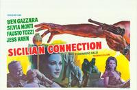 The Sicilian Connection - 11 x 17 Movie Poster - Belgian Style A
