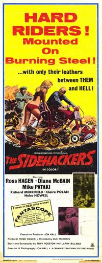 The Sidehackers - 14 x 36 Movie Poster - Insert Style A