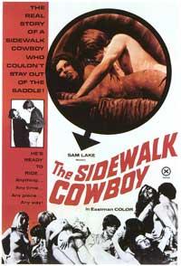 The Sidewalk Cowboy - 27 x 40 Movie Poster - Style A